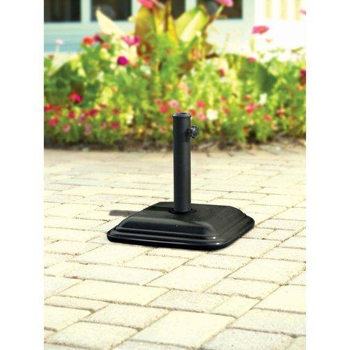 Mainstaysコンクリート傘ベース、ブラック   B00GTXG36M