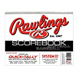 24 Games Baseball/Softball Scorebooks. Scorebook for Youth Little League/ASA/Travel Ball & Adult Rec. Leagues
