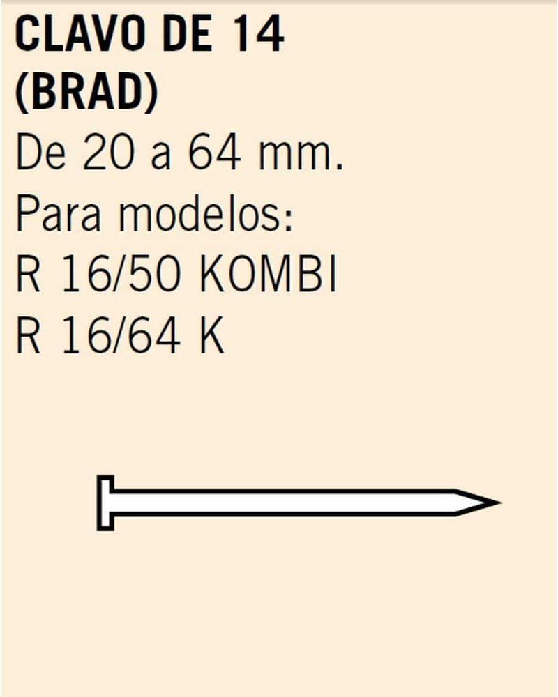 Cevik mcbrad14/ /20/ /Clou de 14/long 20/mm Bo/îte de 6/milliers