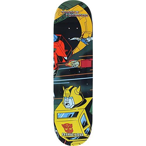 第三詐欺浸すPrimitive Skateboarding Carlos Ribeiro Transformers Bumblebee Skateboard Deck - 8.1 x 31.5 by Primitive Skateboarding