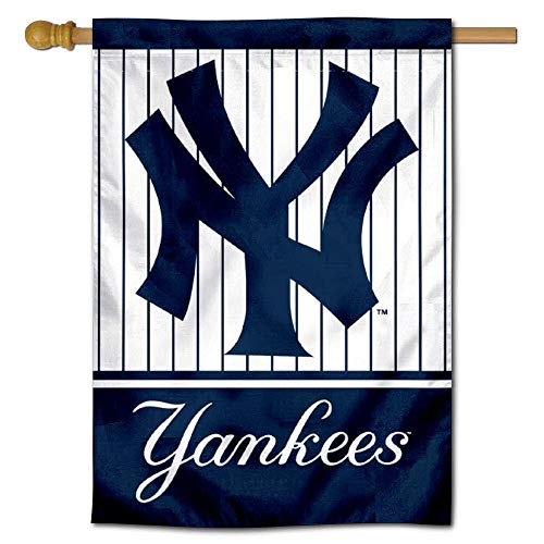 WinCraft NY Yankees Two Sided House Flag ()