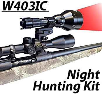 Wicked Lights W403IC Night Hunting Kit