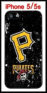 Pittsburgh Pirates iPhone 5 5s Case Hard Silicone Case