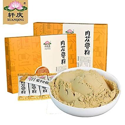 amazon com kingqu 轩庆肉苁蓉粉3gx36袋 礼盒内蒙古肉苁蓉切片打粉益配