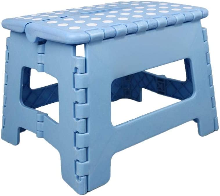 Small Plastic Folding Step Stool With Handle For Kitchen And Home Non Slip Portable Plastic Foot Stool For Kids And Adult For Kitchen Garden Bathroom Stepping Stool Folding Stools