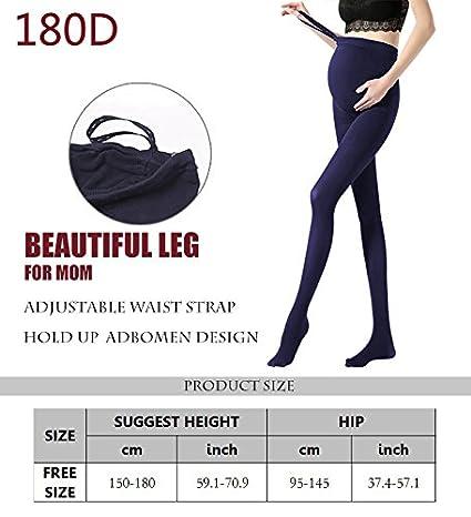 20a50b28415d8 Leggings Bébé & Puériculture Vellette Femme Collants et bas Maternite  opaque Collant de Grossesse Collant Leggings Tights 180D