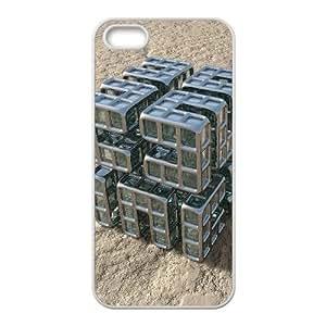Okaycosama Funny IPhone 5,5S Cases 3D 12 Hardshell for Girls, Iphone 5s Cases for Teen Girls Protective, {White}