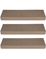 Navaris Krabbord Set - Smalle krasplanken voor krabben/strekken gemaakt van karton voor kleine en grote katten - 41x13x3cm (Set van 3)