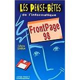 FRONTPAGE 98 +DISQUETTE