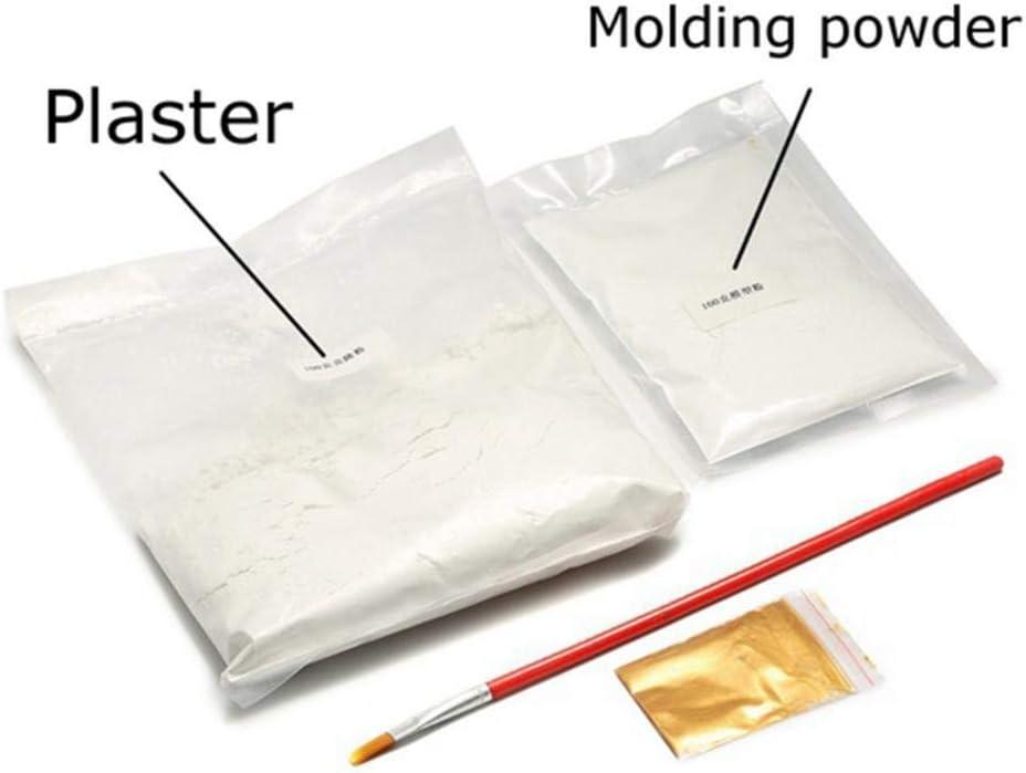 Prosaice 3D Plaster Handprint Footprint Baby Mould Hand/&Foot Casting Prints Kit Cast Gift