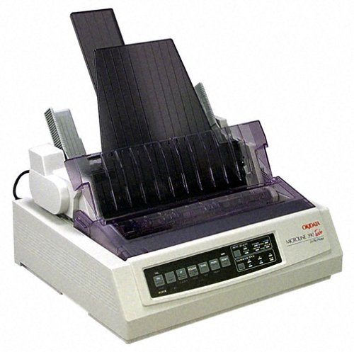 Okidata 62411903 Microline 390 Turbo with Cut Sheet Feeder by Oki Data