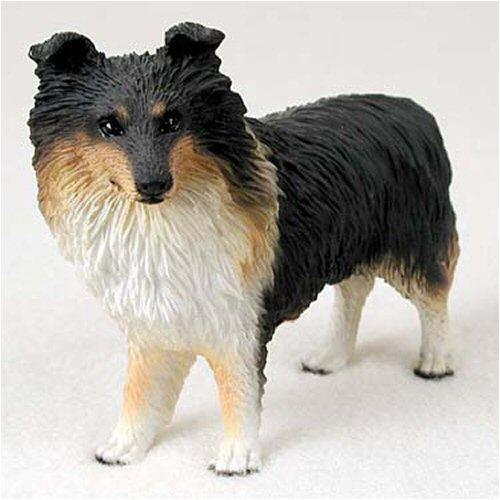 Sheltie, Tricolor Original Dog Figurine (4in-5in)