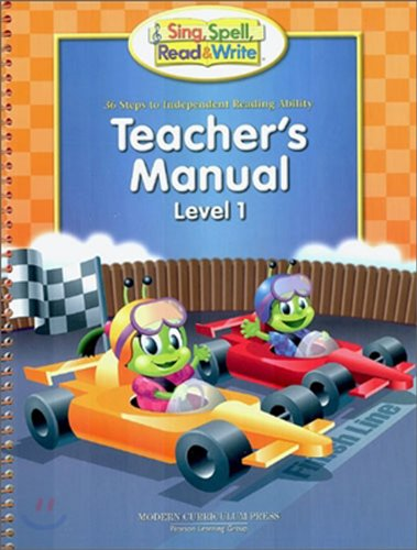 Level 36 Step (Sing, Spell, Read & Write: 36 Steps to Independent Reading Ability, Level 1, Teacher's Manual)
