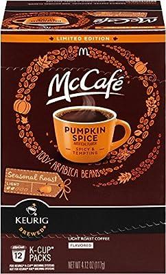 McCafe Pumpkin Spice K Cup 12 Pods, 4.12 Oz. (2-pack)