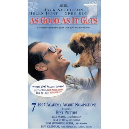 as good as it gets vhs - 3