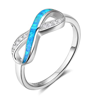 Amazon Com Opalstock Infinity Knot Bff Friendship Rings For Women