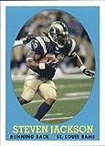 2007 Topps Turn Back the Clock #12 of 22 Steven Jackson St. Louis Rams