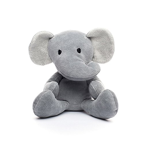 Bears for Humanity Organic Elephant Animal Pals Plush Toy, 12