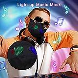 Heart LED Light up_Mask Glowing Luminousg_Mask