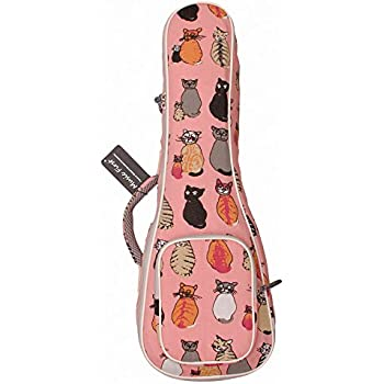 """MUSIC FIRST cotton 21"""" Soprano """"MISS CAT"""" ukulele case ukulele bag ukulele cover , New Arrial, Original Design, Best Christmas Gift!"""