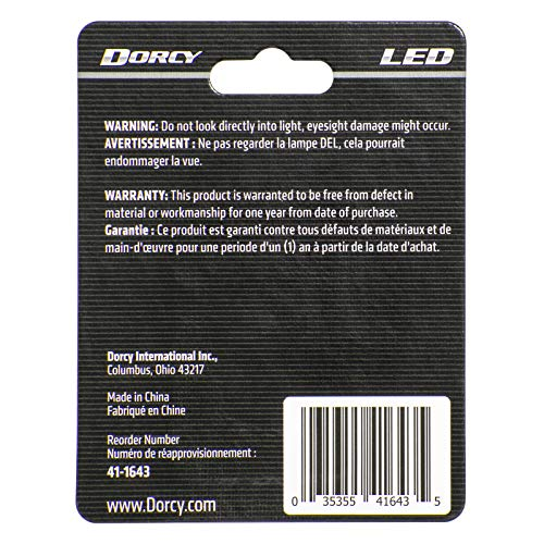 Dorcy 30-Lumen 3-Volt LED Replacement Bulb with 10-year Lifespan, (41-1643)