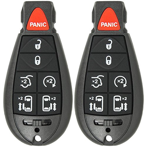 Keyless2Go Replacement Keyless Remote Fobik Key Fob for Vehicles That Use M3N5WY783X (2 Pack)