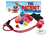 The Patriot Water Balloon Launcher/Pumpkin Chunkin Slingshot/Kids and Adults/Outdoor Game (2 Pack)