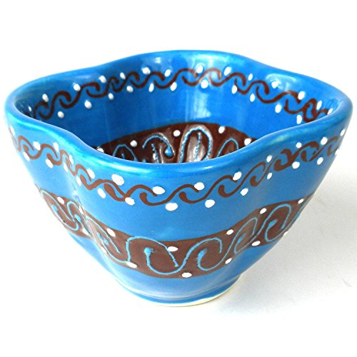 Global Craft Dip Bowl - Azure Blue - - La Stores Encantada