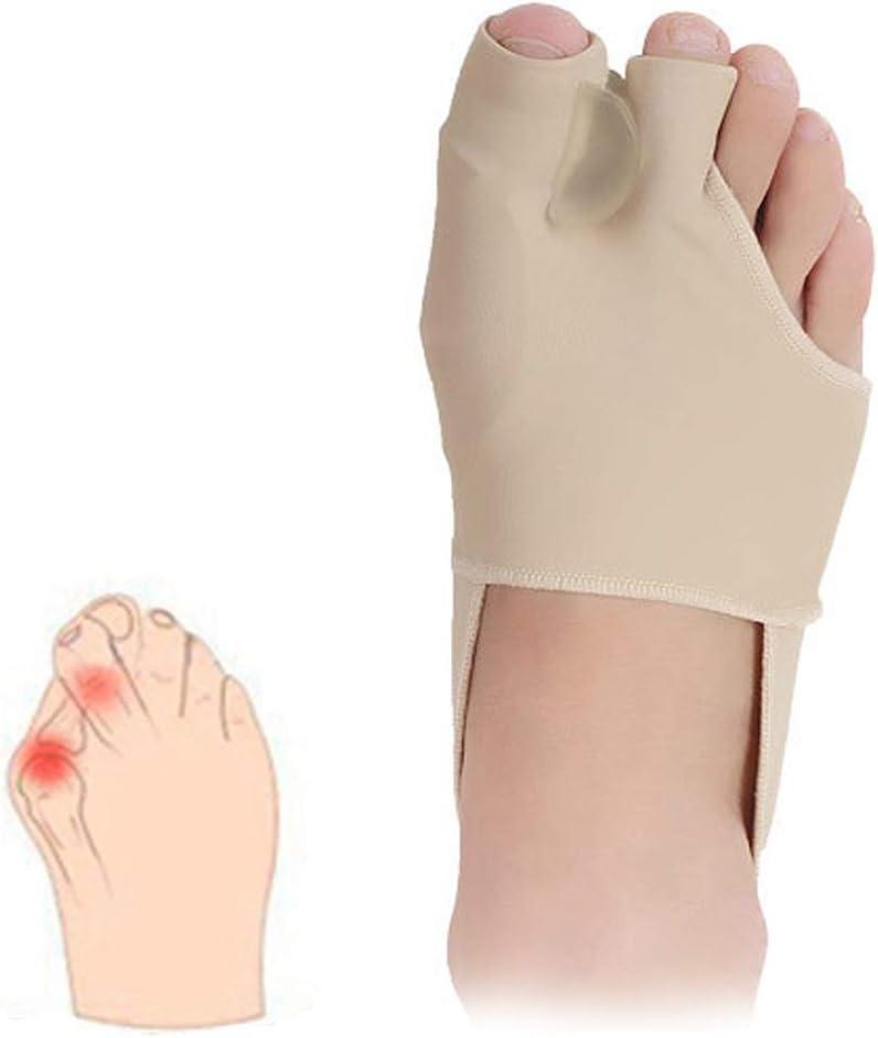 Almohadilla correctora para alivio de juanetes, mangas protectoras ortopédicas para las articulaciones grandes, cojín para el antepié del ballet, para aliviar el dolor de pies de