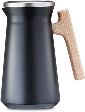 leau de Versement dun Bouton 1L M4 LRXG Pot Disolation Isolation Ext/érieure Froide Couleur : Pink Cafeti/ère Thermos en Acier Inoxydable 304 de Grande Capacit/é pour La Maison