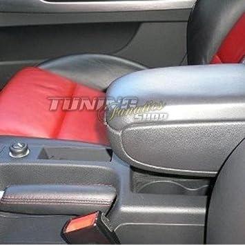Mittel-Armlehne mit klappbarem staufach Farbe: GRAU Mittel-konsole Leder Fahrzeugspezifisch Mittelarmlehne
