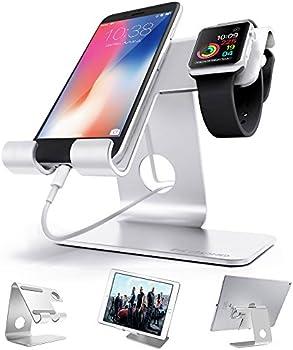ZVE Universal 2 in 1 Aluminium Desktop Charging Stand