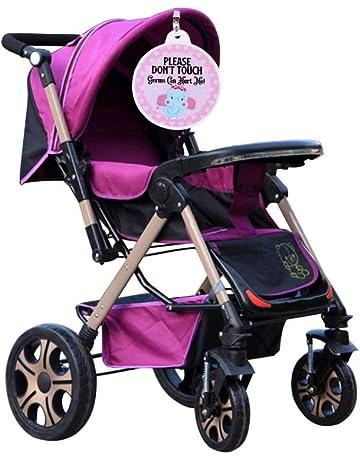 Decdeal Signo de Seguridad para bebés No Tocar Etiqueta Bebé recién Nacido Preemie Cochecito Etiqueta Asiento
