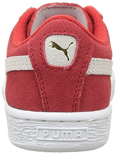 Puma Jungen 360757 Sneaker, Schwarz Rouge (High Risk Red/White)