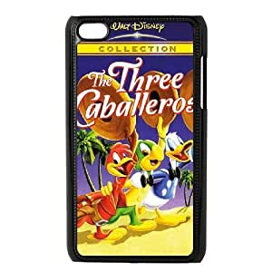 Ipod Touch 4 Phone Case Three Caballeros Personalized Cover Cell Phone Cases HYT492717