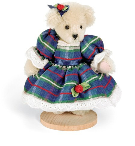 Muffy Vanderbear Miniature Taffeta by Little Gem Teddy Bears
