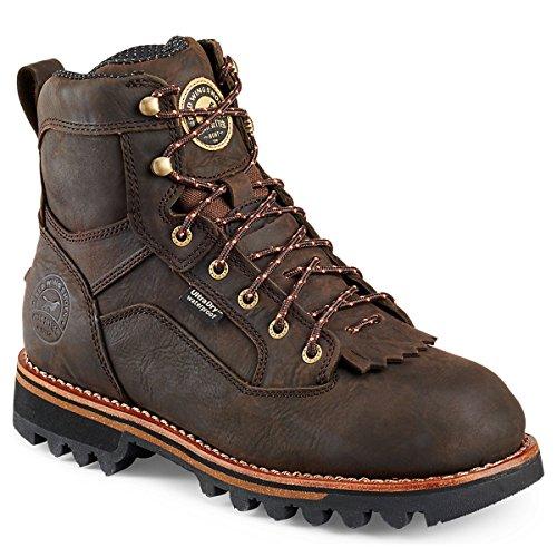 "Irish Setter Men's 878 Trailblazer Waterproof 7"" Big Game Hunting Boot,Brown,10.5 D US"