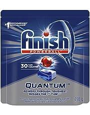Finish Dishwasher Detergent, Quantum, Fresh, 30 Tablets