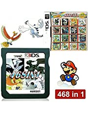 $28 » 468 in 1 Game Cartridge, DS Game Pack Card Compilations, Super Combo Multicart for DS, NDSL, NDSi, NDSi LL/XL, 3DS, 3DSLL/XL, New 3DS, New 3DS LL/XL, 2DS, New 2DS LL/XL