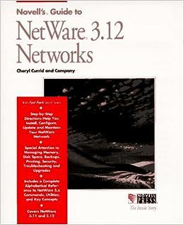 Novell's Guide To Netware 3.12 Networks (Inside Story) Ebook Rar