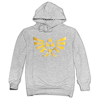 XJBD Men's The Legend Of Zelda Special Sweatshirt Ash