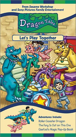 Dragon Tales - Lets Play Together [VHS]