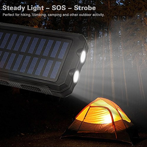 Solar-Power-Bank-20000mAh-Solar-Charger-Waterproof-Portable-External-Battery-USB-Charger-Built-in-LED-light-with-Compass-for-iPad-iPhone-Android-Cellphones
