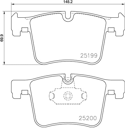 Length2 : 900 mm mm : 1230 HELLA PAGID 8AK 355 700-271 Clutch Cable Length1