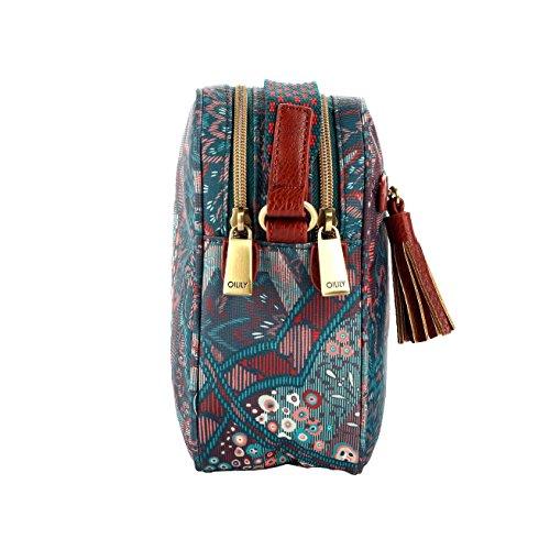 Oilily Bag Paisley Shoulder Emerald S Hr1qzHS