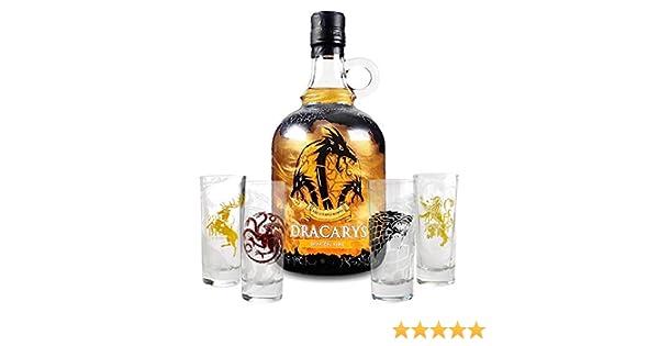 Pack Chupitos Dracarys Juego de Tronos: Amazon.es: Alimentación y bebidas