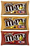 M&M's Peanut Special Flavors Bundle- (1) Coffee Nut, (1) Honey Nut, and (1) Chili Nut - 10oz Bags (3 Flavor Variety Pack)