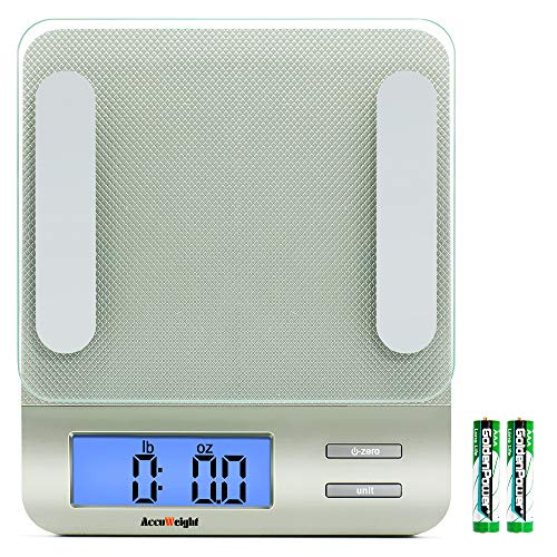 Accuweight 207 Digital Kitchen Multifunction Food Scale for Cooking...