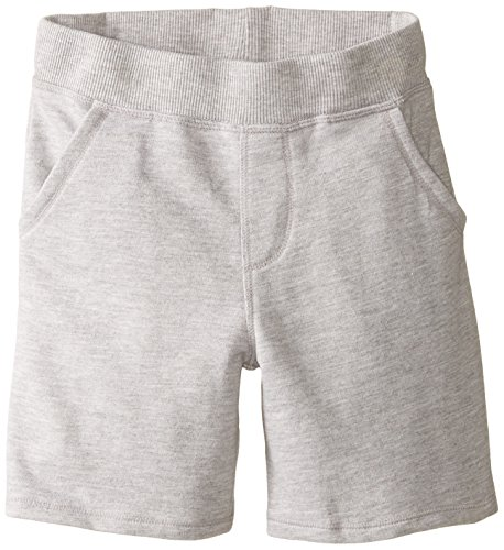 Charlie Rocket Little Boys' French Terry Shorts, Heather Grey, 5