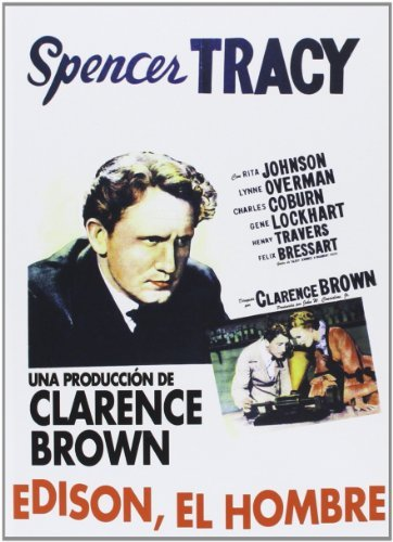 Edison, The Man (1940) - Region Free PAL, plays in English without subtitles by Spencer Tracy B01I05RO0U